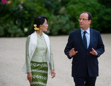 """Hollande broni paliwowego giganta. """"Wypłacił wysiedlonym rekompensaty"""""""
