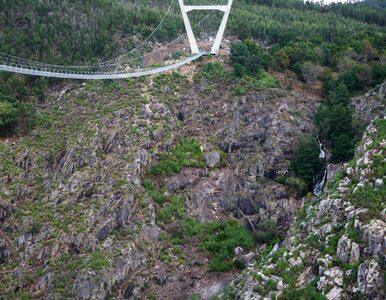Otworzono najdłuższy most wiszący dla pieszych na świecie. Mamy pierwsze...