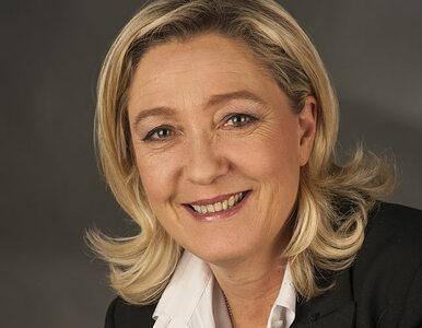 Marine Le Pen wygrywa w sondażach z Francois Hollande'em