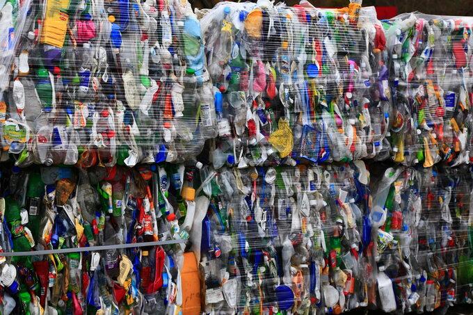 Opakowania plastikowe dorecyklingu