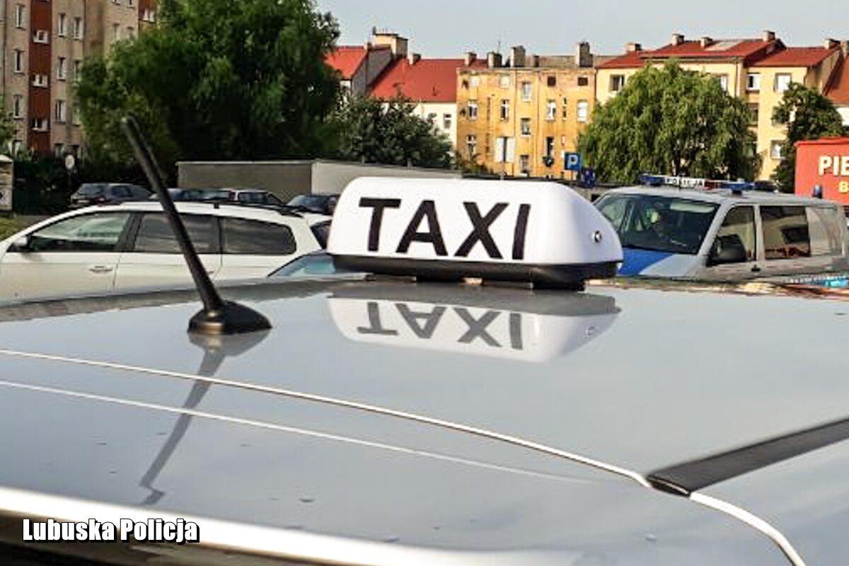 Mężczyzna zatrzymany za zniszczenie taksówki