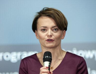 Jadwiga Emilewicz chciała wrócić do rządu. Partia się nie zgodziła....