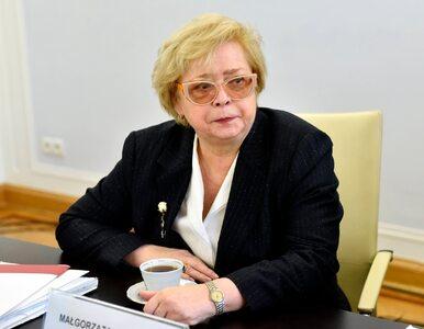 Małgorzata Gersdorf odwołuje zgromadzenie. Sędziowie nie wskażą jej...