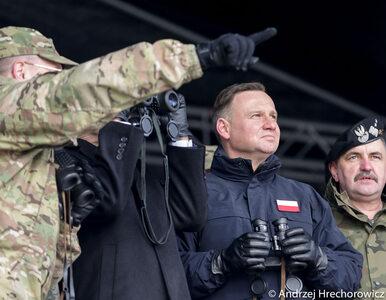 """Prezydent powitał amerykańskich żołnierzy w Żaganiu. """"To przełomowa chwila"""""""
