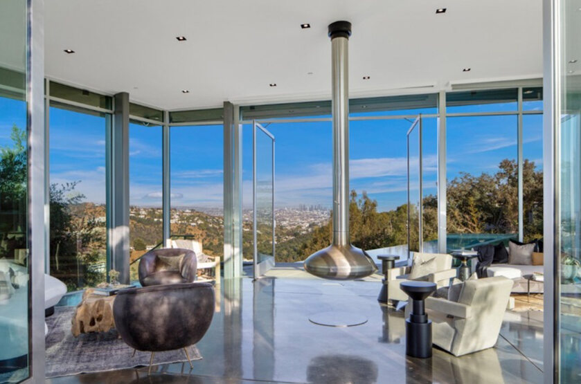 Dom Pharrella Williamsa w Hollywood Hills w Kalifornii