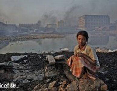 UNICEF: 300 mln dzieci na świecie oddycha zanieczyszczonym powietrzem