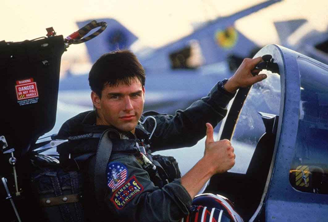 """Kadr z filmu """"Top gun"""""""