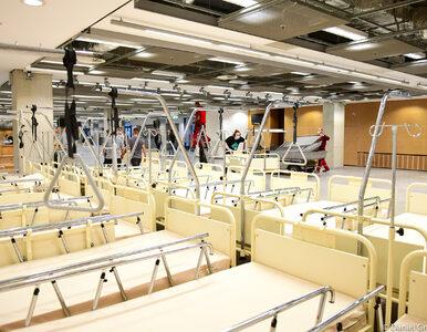 Szpital na Stadionie Narodowym. Zmienią się kryteria przyjmowania pacjentów
