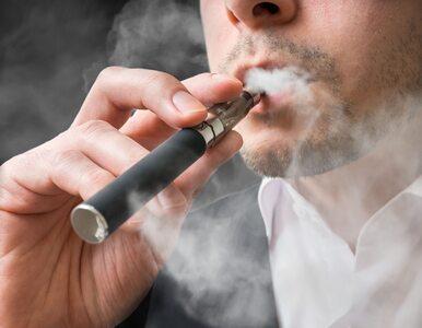 Aerozol z e-papierosów szkodzi płucom?