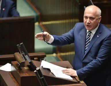 Brudziński o słowach szefa PE: Ten polityk po raz kolejny bełkocze