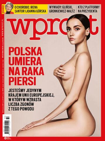 Okładka tygodnika Wprost nr 33/2019 (1898)