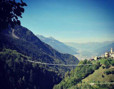 Otworzono najwyższy wiszący most w Europie. Atrakcja dla ludzi o mocnych...