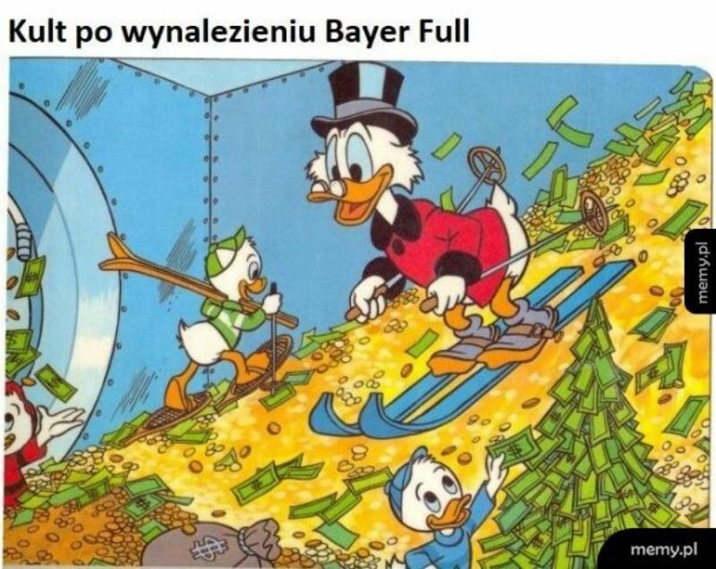 Kult kontra Bayer Full oczami internautów