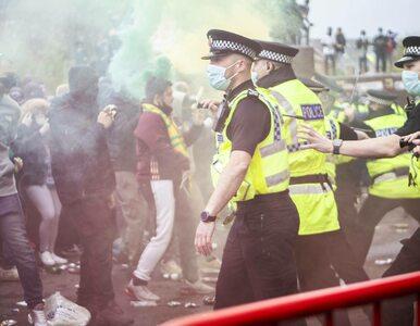 """Po """"inwazji"""" na Old Trafford przełożono """"bitwę o Anglię"""". Kibice United..."""