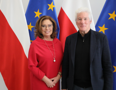 Richard Gere spotkał się z Małgorzatą Kidawą-Błońską. O czym rozmawiali?