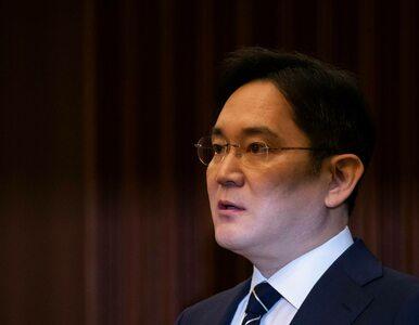 Wiceprezes Samsunga wraca za kraty. Akcje giganta zaliczają mocny spadek