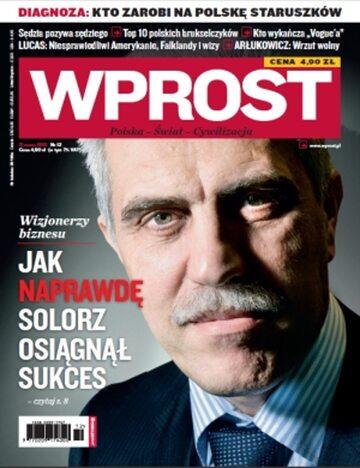 Okładka tygodnika Wprost nr 12/2010 (1416)