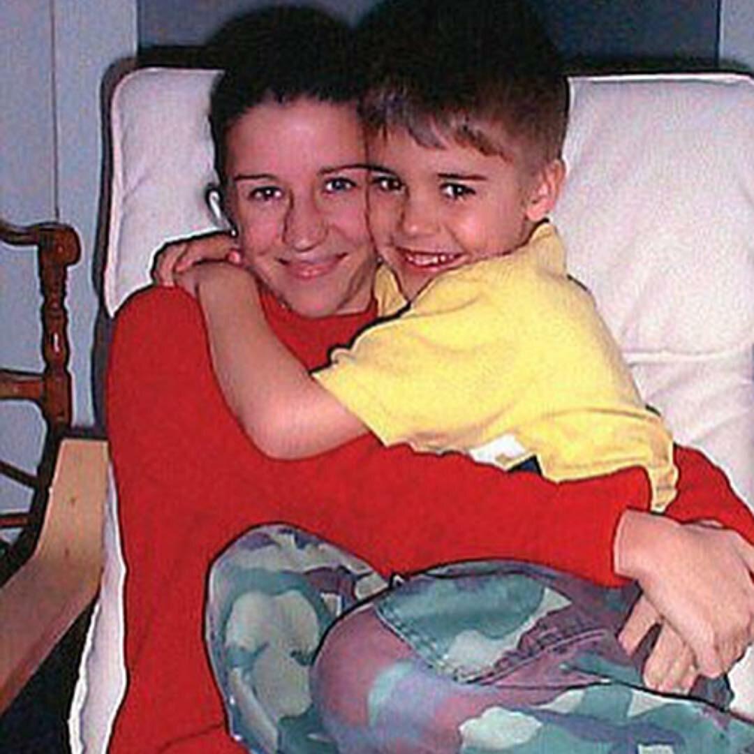 Justin Bieber z matką