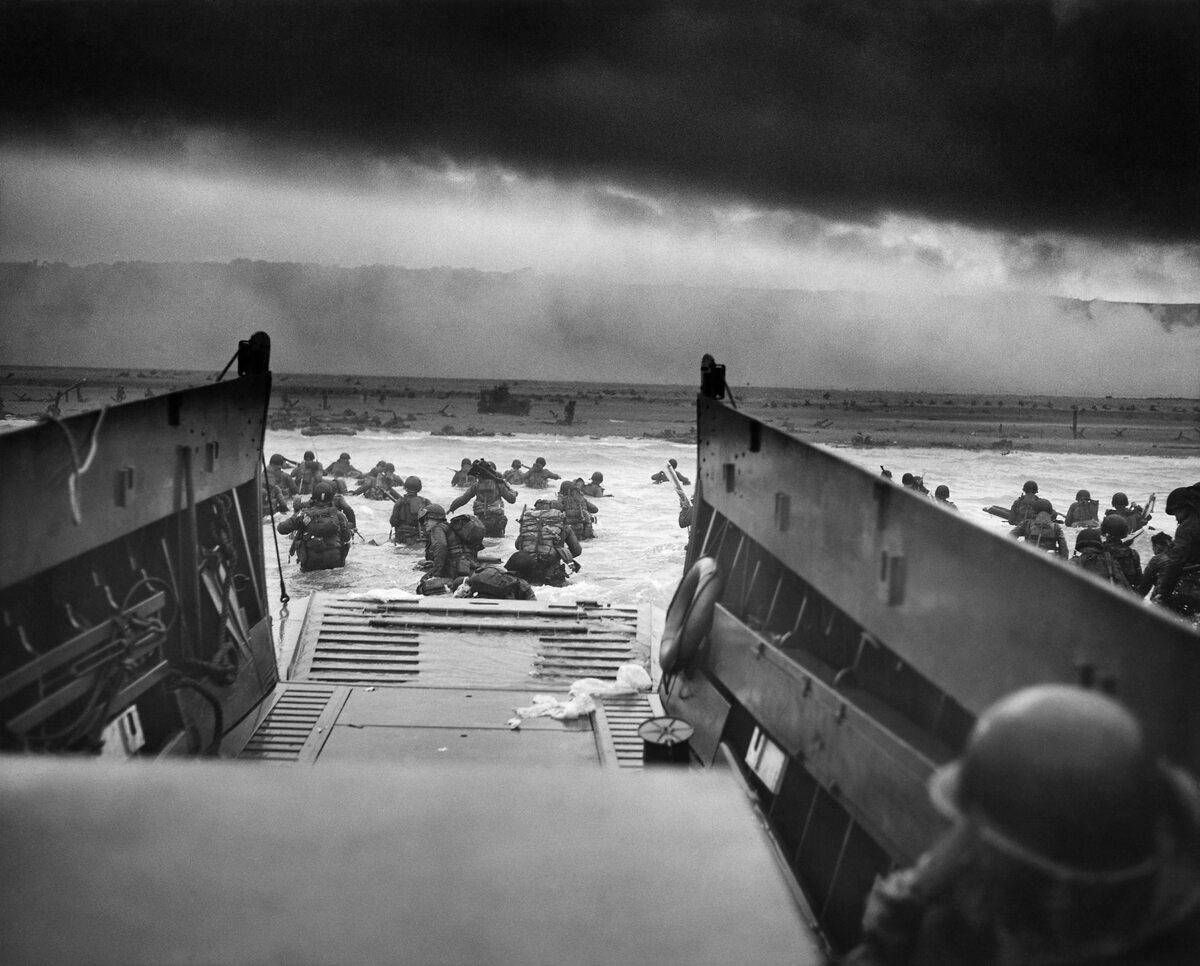 W szpony śmierci. Plaża Omaha (6 czerwca 1944).