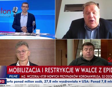 """""""Śmiertelność nie jest porażająca"""". Lichocka oburzona: Czemu TVP..."""