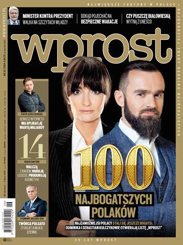 Okładka tygodnika Wprost nr 26/2017 (1792)