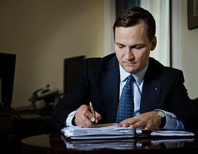 """Sikorski """"rozczarowany"""" rosyjską listą, ponieważ... nie ma zakazu wjazdu"""