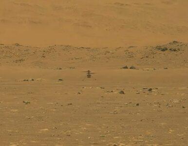 NASA przeprowadziła pierwszy lot helikoptera na Marsie. To przełom