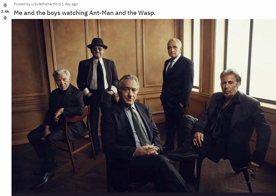 "Mem z Martinem Scorsese i filmem ""Irlandczyk"""