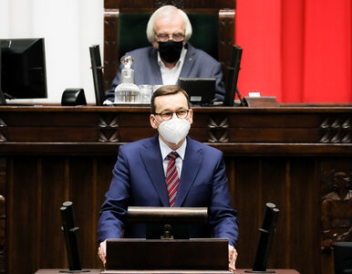 Morawiecki w Sejmie o luce VAT. Posłużył się cytatem z Mario Puzo