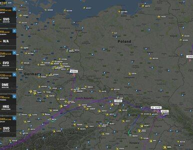 """""""Samoloty nie mogą wlecieć do Polski"""". Nieprecyzyjne informacje wywołały..."""