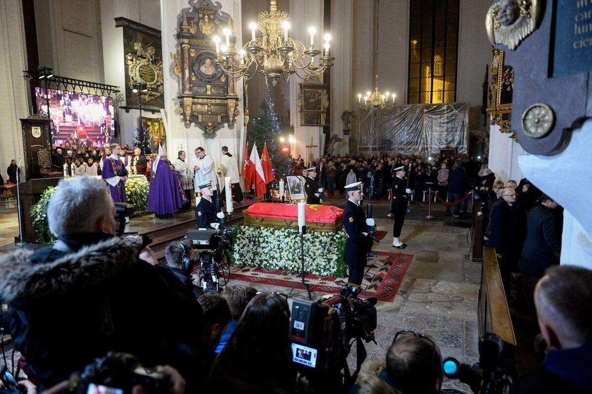 Msza św. w intencji zmarłego Pawła Adamowicza