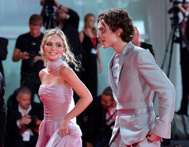 Lily-Rose Depp i Timothee Chalamet zachwycili w Wenecji. Wspólnie...