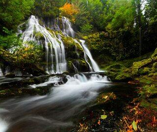 Niezwykłe wodospady