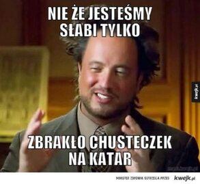 Polska przegrała z Katarem. Najlepsze memy