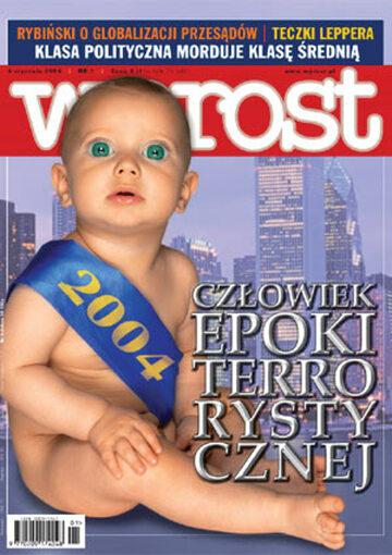 Okładka tygodnika Wprost nr 1/2004 (1101)