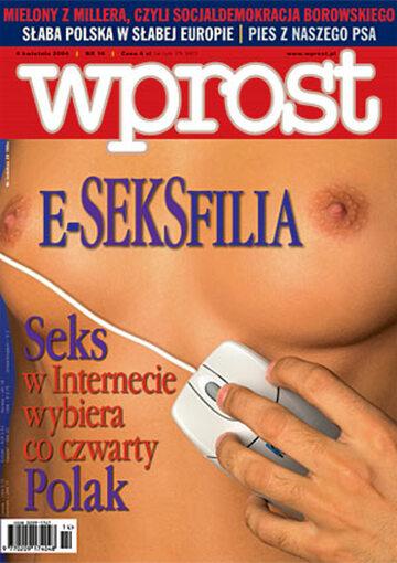 Okładka tygodnika Wprost nr 14/2004 (1114)