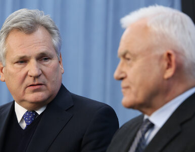 Miller wspomina, co usłyszał od unijnego negocjatora: Ty i Kwaśniewski,...