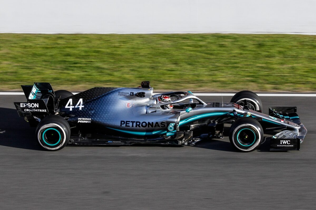 Bolid Mercedesa z 2019 roku