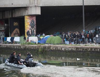 Francja. Policja zlikwidowała nielegalny obóz migrantów