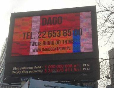Dług publiczny przekroczył 1 bilion złotych. Jest komunikat FOR
