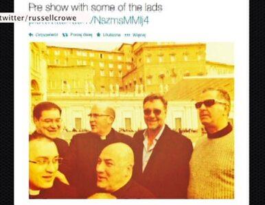 Russell Crowe w Watykanie. Czekał na audiencję u papieża, która nie była...