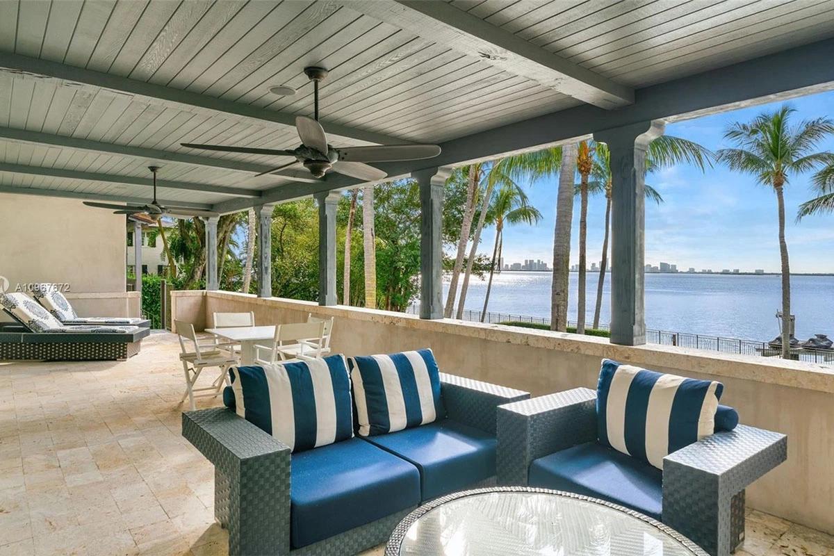 Były dom Phila Collinsa w Miami Beach na Florydzie