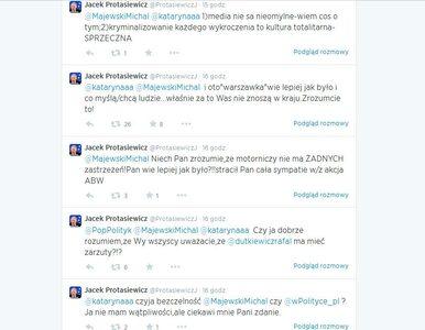 Protasiewicz atakuje Warszawę, jej mieszkańców oraz Legię
