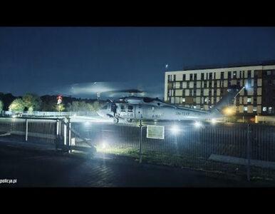Policyjnym Black Hawkiem z Pomorza na Dolny Śląsk. Niezwykła akcja...