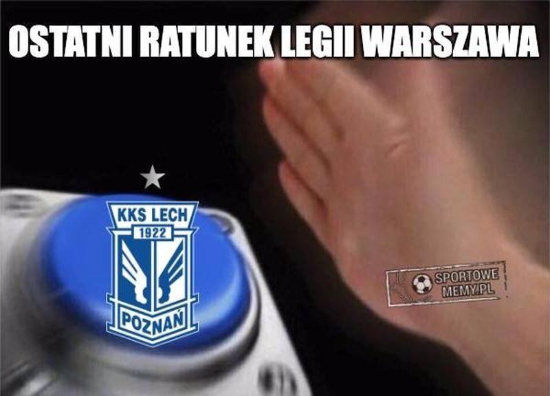 Legia liczyła na wygraną Lecha