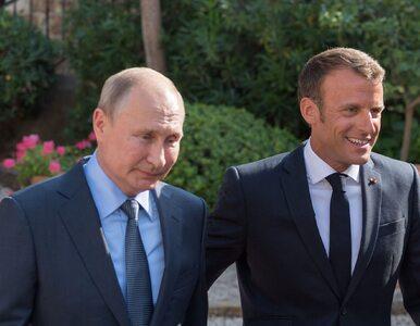 """""""FAZ"""": Macron jest gotowy na ustępstwa wobec Rosji. Podważa jedność NATO"""