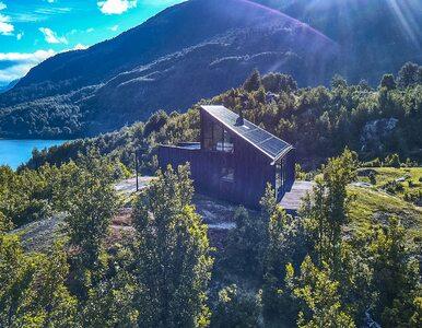 Dom z widokiem na krajobraz Patagonii. Zdjęcia zapierają dech
