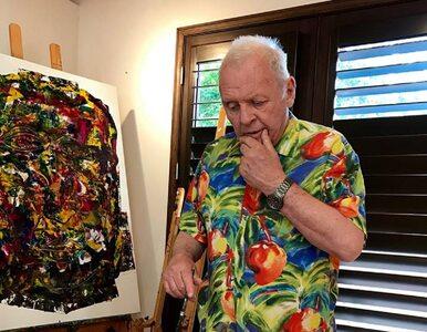 Te obrazy namalował... Anthony Hopkins. Aktor pokazał swoje imponujące...
