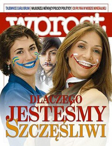 Okładka tygodnika Wprost nr 29/2008 (1334)