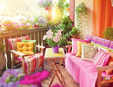 """Jak urządzić mały balkon? """"Nie tylko kwiaty"""""""